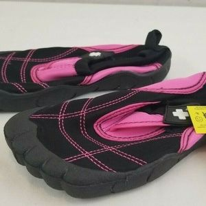 Other - toddler girls 11/12 pink/black water shoes